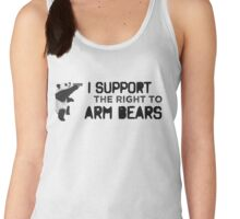 I Support the Right to Arm Bears, Panda Bears Women's Tank Top