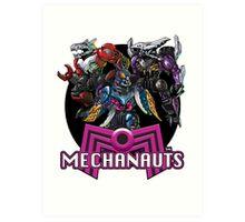 Mechanauts Villains Art Print