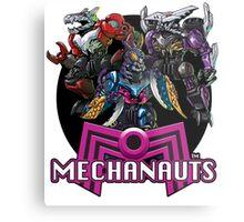 Mechanauts Villains Metal Print