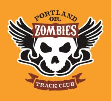 Portland Zombies Track Club Crest (light) T-Shirt