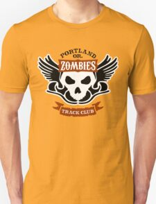 Portland Zombies Track Club Crest (light) T-Shirt