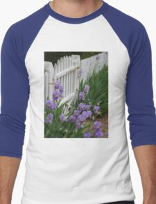 Iris Gate Men's Baseball ¾ T-Shirt