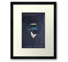 The Marlin, the Trout, and the Chicken Framed Print