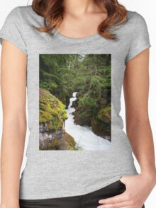 Avalanche Creek Women's Fitted Scoop T-Shirt