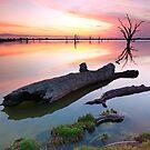Loch Luna Sunset by Bill  Robinson