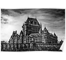 Fairmont Le Chateau Frontenac Poster