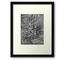 W.I.P. Drawing. Framed Print