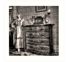 Bedroom cameo ~ Monte Cristo, Junee (NSW) Art Print