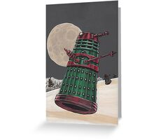 Christmas of the Daleks Greeting Card