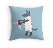 Mr Wolf's dinner suit. Throw Pillow