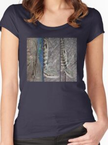 Water Dragon Women's Fitted Scoop T-Shirt