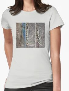 Water Dragon Womens Fitted T-Shirt