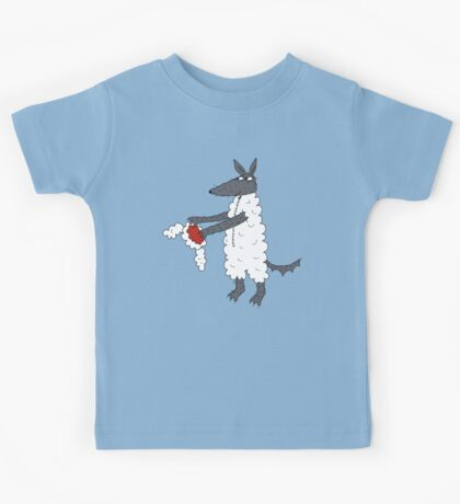Mr Wolf's dinner suit. Kids Tee