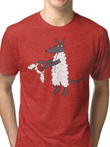 Mr Wolf's dinner suit. Tri-blend T-Shirt