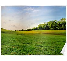 God's Green Grass Poster