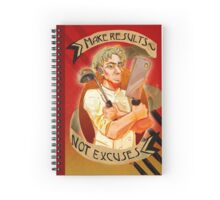 Make Results Not Excuses Spiral Notebook