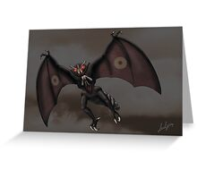 Mothman Greeting Card