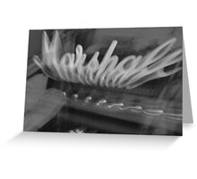 Marshall Madness Greeting Card
