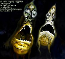 H. P. Lovecraft's The Shadow Over Innsmouth by Cameron Hampton