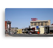 Small Town Nevada Canvas Print