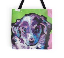 Australian shepherd Aussie Bright colorful Pop Art Tote Bag