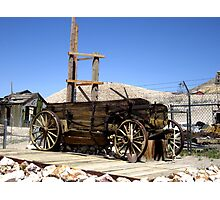 Ore Wagon Photographic Print