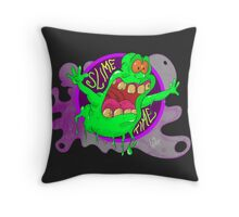 Slime Time Throw Pillow