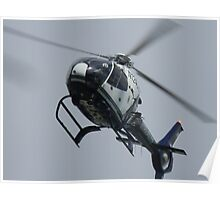 Austin Police Helicopter Overhead Poster