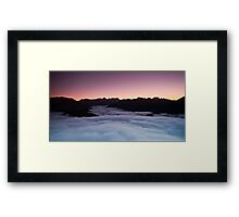 Cannibal Gorge Sunrise Framed Print