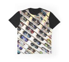 Wall of Shades Graphic T-Shirt