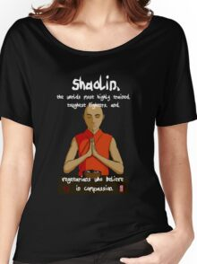 Compassionate Vegetarians (dark colours) Women's Relaxed Fit T-Shirt