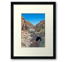 Guatin - Atacama Desert - Chile Framed Print