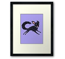 Running Dog Framed Print