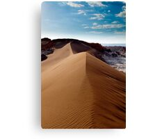 Moon Valley - Atacama Desert - Chile Canvas Print