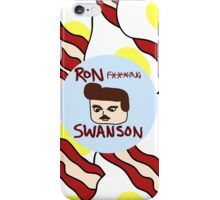 Ron F***ing Swanson iPhone Case/Skin