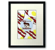 Ron F***ing Swanson Framed Print