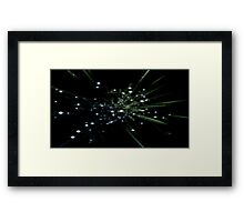 The Start of the Universe Framed Print