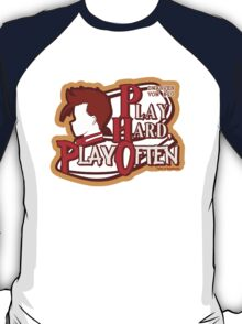 Dwarven Vow #10 - Play hard, play often! T-Shirt