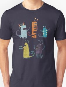 Secretly Vegetarian Monsters T-Shirt