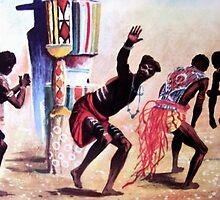 tribal dancing  by goldyparazi