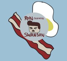 Ron F***ing Swanson Kids Clothes