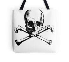 Skull And Crossbone Tote Bag