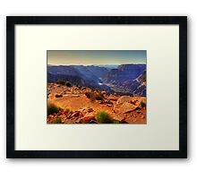 Beauty as far as the eye can see - Grand Canyon Framed Print