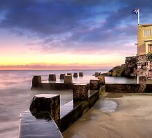 Coogee Baths Sunrise by Shannon Rogers