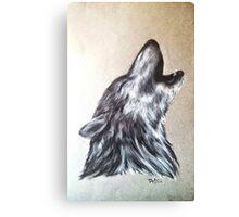 """Western Wolf"" Canvas Print"