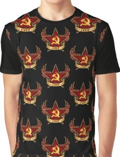 CCCP Army Graphic T-Shirt