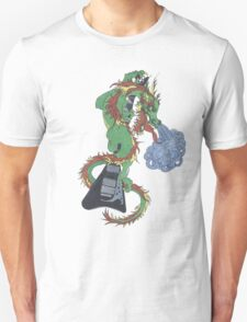 new raging dragon and guitar Unisex T-Shirt