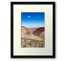 Nacimiento Gorge - Atacama Desert - Chile Framed Print