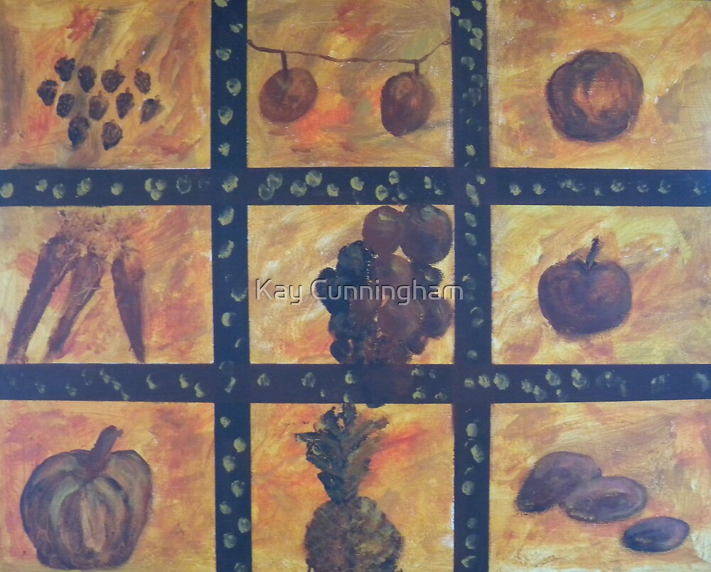 Fruits Of The Garden by Kay Cunningham