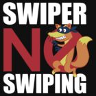 Swiper No Swiping for dark colors by kashley